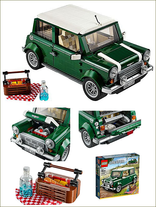 米国レゴ 104242 ミニクーパー クリエーターシリーズ 99.99ドル