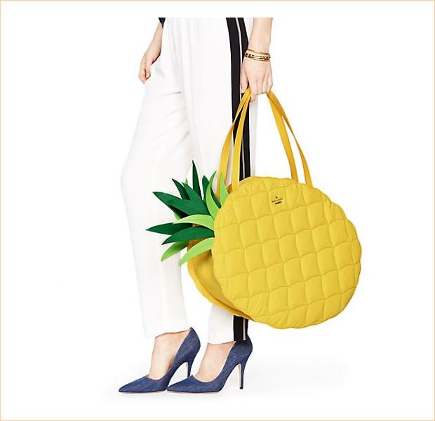ケートスペード pxru5793 Wing it Pineapple tote