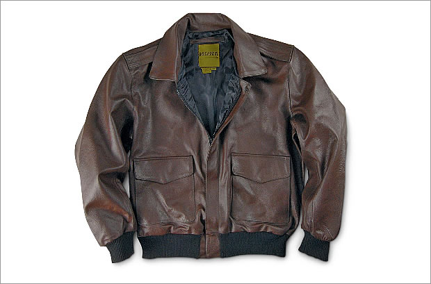 スポーツマンズガイド WX2-207051 Knox Armory Military-style A2 Leather Jacket