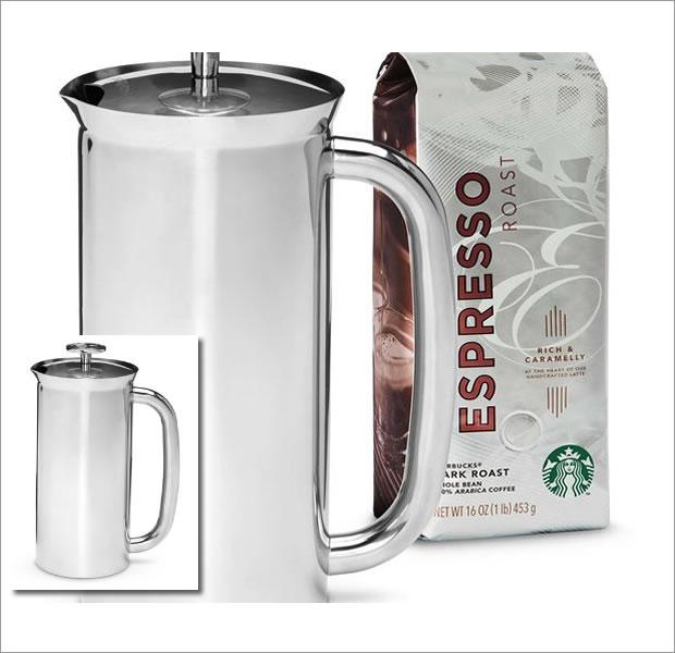 スターバックス ESPRO Press Coffee Kit