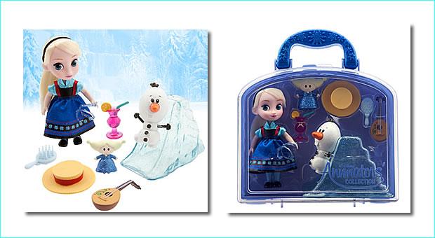 ディズニー No6002040901147P ディズニーアニメーター コレクション エルザ ミニドール プレイセット アナと雪の女王