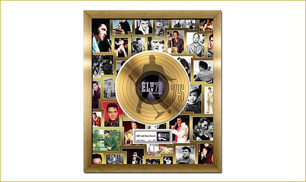 Elvis Presley 75th Birthday Celebration Gold Record, Limited Edition 2010