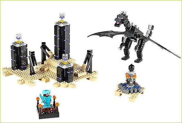米国レゴ No21117 The Ender Dragon マインクラフト