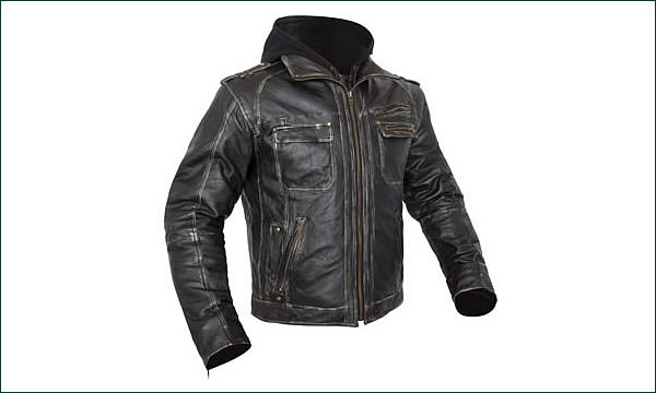 Bilt Drago Leather Motorcycle Jacket