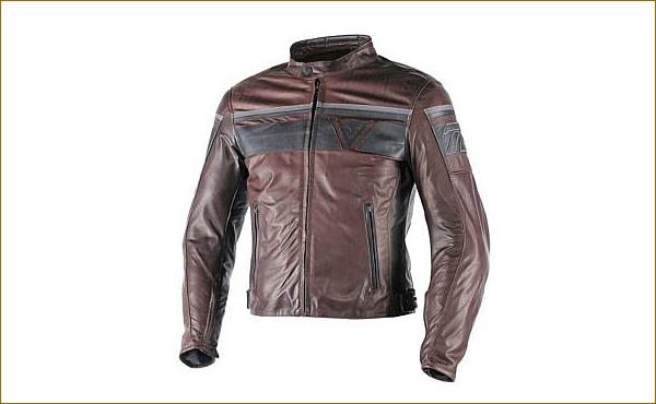DAINESE Blackjack Leather Motorcycle Jacket