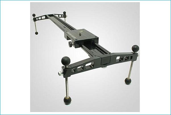 Glide Gear DEV 235 Video Camera Track Slider with Adjustable Feet