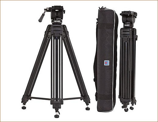 Benro AD71FK5 Video Tripod Kit with Dual Stage AD71F