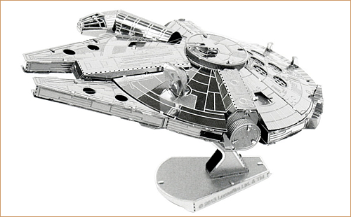 ファスシネーション 251 スターウォーズ ミレニアム ファルコン メタルアース 3D メタル モデル キット