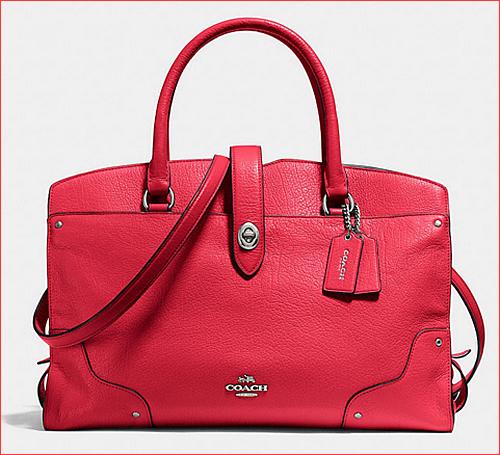 MERCER satchel in grain leather