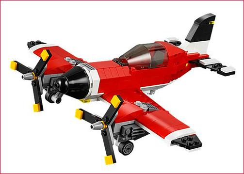 Lego Propeller Plane