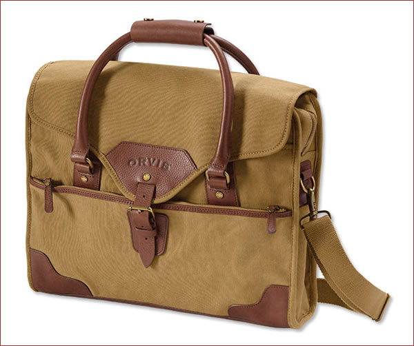 ORVIS SI2J43-01-00 1856 Briefcase