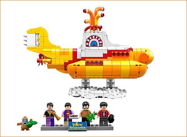個人輸入 レゴ アイディア 21306 ビートルズ イエローサブマリン