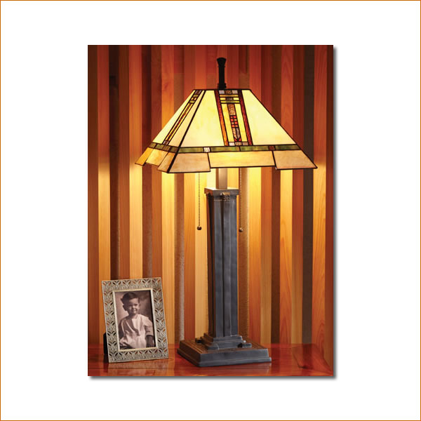 個人輸入 [ショップ・ライト] フランク・ロイド・ライト #656088 ミッションランプ