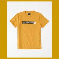 【アバクロ】アクティブロゴTシャツ [個人輸入代行の商品紹介]
